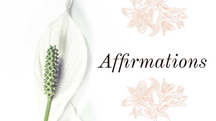 affirmation cover